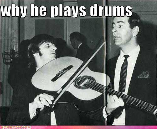 Ringo Starr gets no love.
